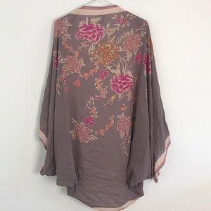 Merona floral kimono